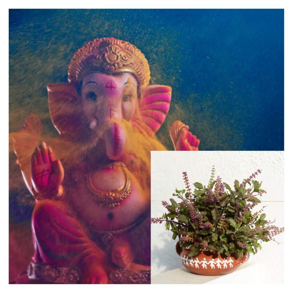Ganesha and Tulsi Love Story